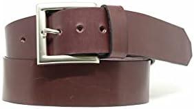 Cinturón cuero color vino. Cinturón genuino de cuero con curtición vegetal en villarramiel, España. Todos nuestros...