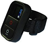 WiFi Remote Control Wrist Strap/Band/Mounting/Accessory Compatible with GoPro remotes - Black