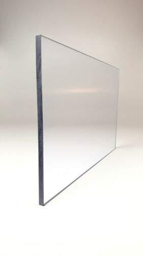 1,0 mm Polycarbonat Platte Makrolon ® Tafelformat 1250 x 680 mm transparent/farblos