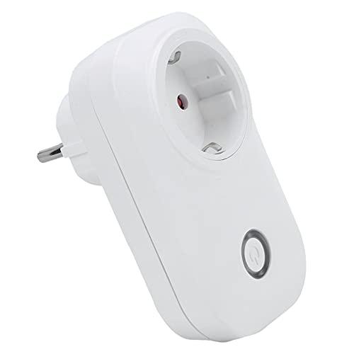 Enchufe de control remoto, enchufe inteligente Gestión de temporización liviana con carcasa ignífuga para 90-250 V para el hogar(Transl)