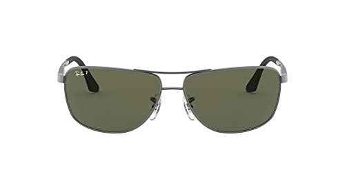 Ray-Ban - Gafas de sol unisex, color grau (029/9a 029/9a), Tamaño de la lente-puente-templo: 64/13/135, Large
