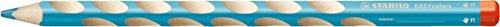 STABILO EASYcolors Einzelstift rechts himmelblau - ergonomischer Buntstift