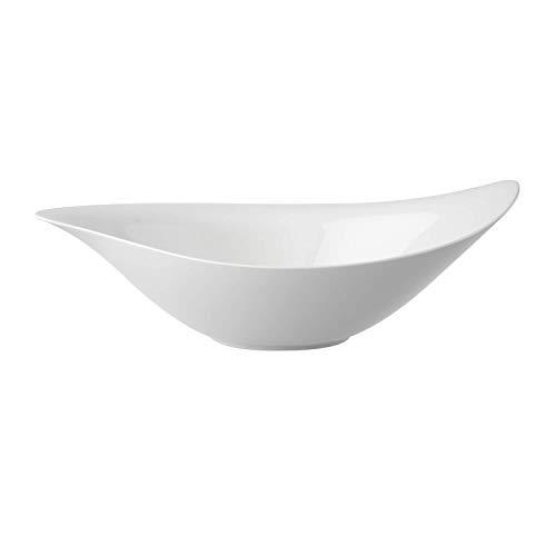 Villeroy und Boch New Cottage Special Serve Salad Salatschüssel, Premium Porzellan, 45 x 31 cm
