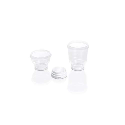 Sartorius 16D01–10–07–BL microsart Filter, 100Tasche Version, steril, Zellstoff, Nitrat, weiß/schwarz, 0,2um, Fassungsvermögen: 100ml (60Stück)