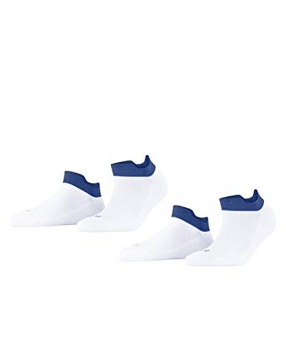Esprit Cushioned Sporty 2-Pack M SN Chaussettes, Blanc (2000), 39-42 (Lot de 2) Homme