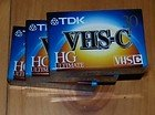TDK 3-Pack of 30 Minute VHS-C Camcorder Tapes (TC-30HG)