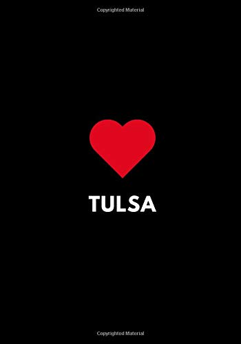 Tulsa: College Ruled Lined Notebook, Oklahoma USA Gift Journal 7