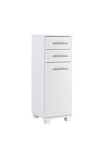 Schildmeyer Unterschrank 119966 Isola, 30x32.5x88 cm, weiß