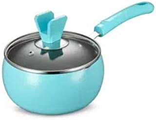Sartenes para freír Palo-no pequeñas leche Olla Suplemento Pot Inicio Bebé Alimentación Infantil Leche Hot Pot Pot fideos fideos crisol de la sopa olla de cocina Wok Pan Pot (Color : 16cm)