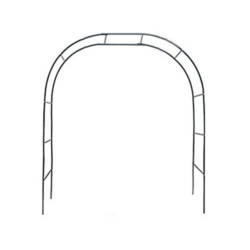 lencyotool Metal Garden Arch, Arco per Rose Rampicanti, Decorazione Giardino, Garden Pergolas Metallo Arco Sostegno per Piante Rampicanti, Garden Archway Traliccio in Acciaio Verniciato a Polvere
