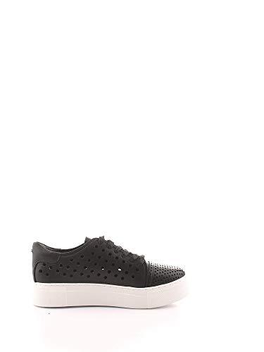 Cult Luxury Fashion Damen CLE104371 Schwarz Leder Sneakers   Frühling Sommer 20