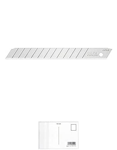 オルファ ステンレス替刃(小) 5枚入 SSB5K 【 3セット 】 + 画材屋ドットコム ポストカードA