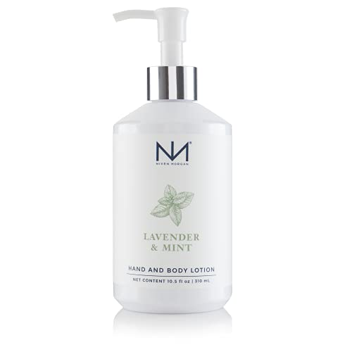 Niven Morgan Lavender & Mint Hand and Body Lotion 10.5 Fl.oz