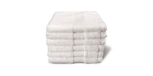 grace grand spa Toalla de baño, 100% algodón, Blanco, Badetuch 100 x 150