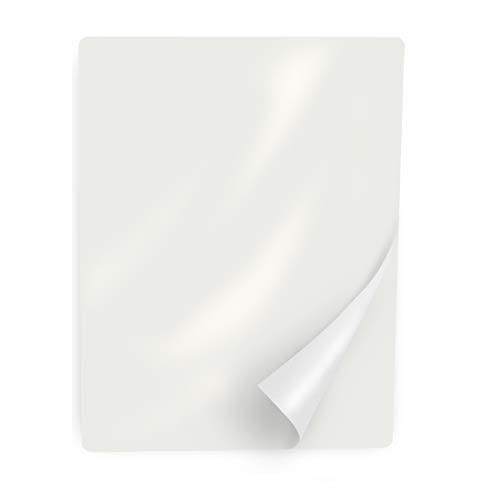 Ultraoffice pellicole di plastificazione DIN A4, lucide, 100 pezzi, 100 micrometri, per plastificatrici, per conservare a lungo documenti, menù e altro