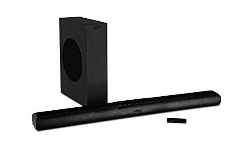 Wharfedale Vista 200s Soundbar mit Subwoofer in Schwarz