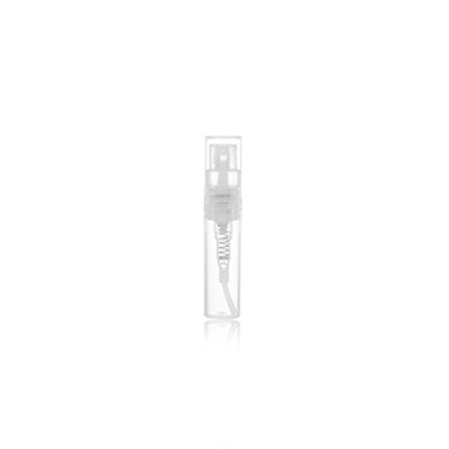 12Pcs 2ml/3ml Empty Refillable Protable Clear Plastic Makeup Water Pure Dew Perfume Sample Pen Spray Bottle Container Vial Sprayer Atomizer Best for Travel Packing and Sampling (2ML)