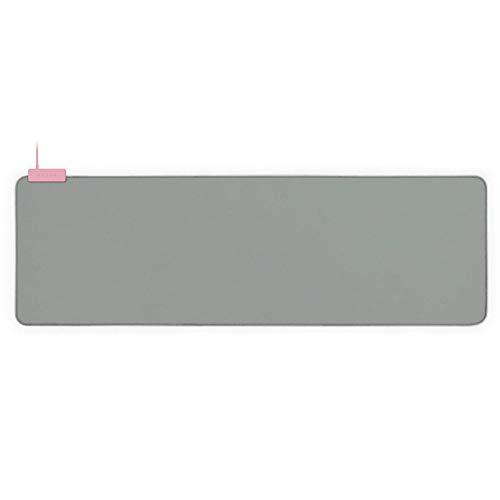 Razer Goliathus Extended Chroma Gaming Mouse Pad: Customizable Chroma RGB Lighting - Soft, Cloth Material - Balanced Control & Speed - Non-Slip Rubber Base - Quartz Pink (Renewed)