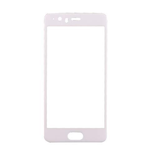YHMC AYHC AYDD para Huawei P10 Plus 0,3 mm 9h Dureza de la Superficie 3D Curved Seda de la Pantalla de la Pantalla de Cristal Templado de la Pantalla Completa (Blanco) (Color : White)