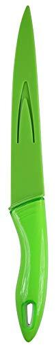 culinario Schneidemesser mit Klingenschutz, grün