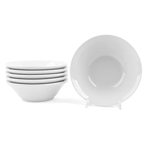 Holst Porzellan MA 318 FA2 Vorteilspack 6er Set Dessert-, Salat- und Müslischalen 18 cm