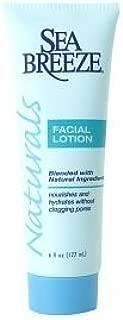 Sea Breeze Naturals Facial Lotion, 6 fl oz Seabreeze