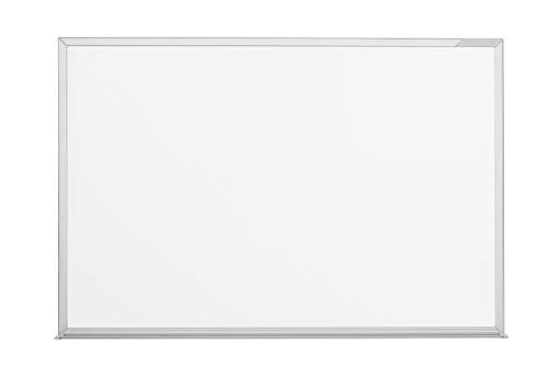 magnetoplan Whiteboard CC 120 x 90 cm, in weiteren Größen auswählbar, mit emaillierter Oberfläche, Metallrückwand, inklusive Befestigungsmaterial
