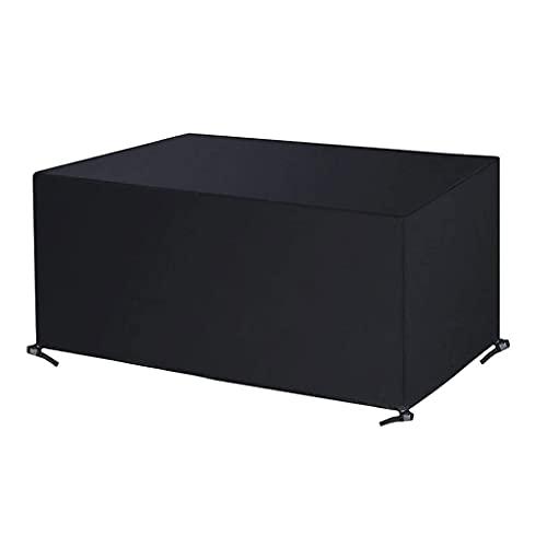 Yuxuan Cubierta De Muebles De Patio Impermeable Anti-UV Cubiertas De Muebles De Jardín 420D Oxford Resistente para Mesa, Silla, Sofá Al Aire Libre(Size:180 * 150 * 80cm)