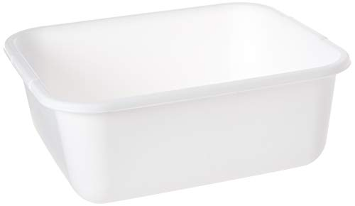 Rubbermaid 2951-AR BISQUE 11.4 QT Bisque Dish Pan (2-Pack)