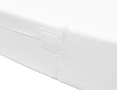 The House of Emily Fully Enclosed Encased Waterproof Mattress Encasement Protector Cover 12' Deep Zip Closure Super King