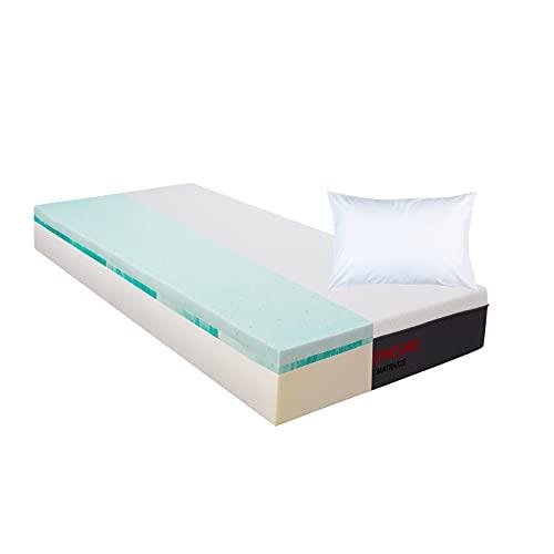 Matratzen Concord DIE MATRATZE Komfortschaummatratze mit Duo Topper und gratis Kissen 90x200