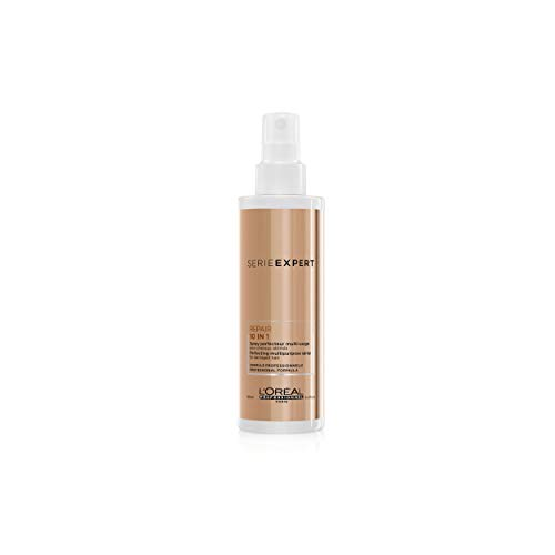L'Oréal Professionnel | Serie Expert | Absolut Repair 10 in 1 Hitzeschutz- und Glanzspray 190ml
