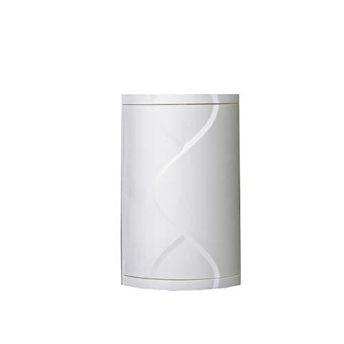 LIERSI Badezimmer Eckschrank Regal Dreieck 360 Grad Halter Küche Wc Regal Badezimmer Lagerregal Multi Layer Lagerregal,Weiß