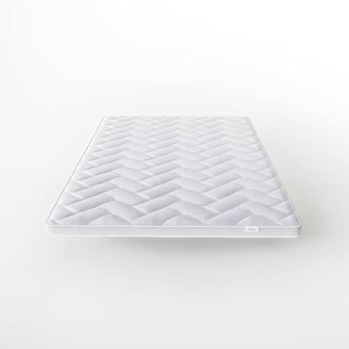 Hilding Sweden Surmatelas Pure 30-200 x 180 x 5 cm - sur-Matelas à Mousse Rafraîchissante Onecore - Fermeté H2-H3 - pour Tous Types de Matelas et Lits - Blanc
