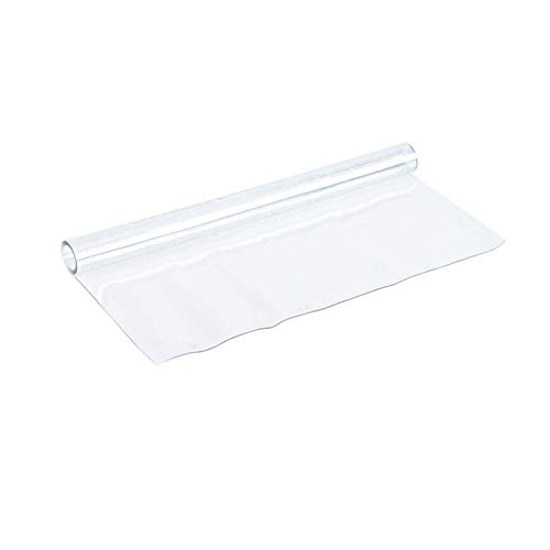 litulituhallo 1. Mantel de PVC esmerilado transparente de cristal suave mesa de café