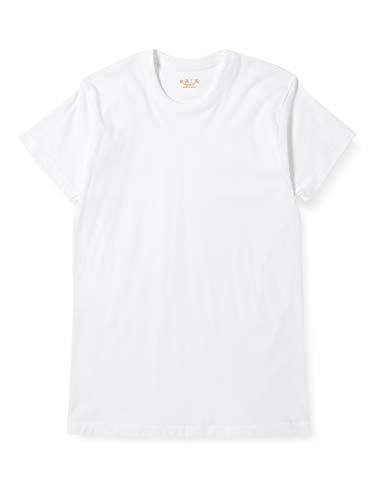 [グンゼ] インナーシャツ 快適工房 綿100% 半袖丸首 KH5014 メンズ ホワイト 日本3L (日本サイズ3L相当)