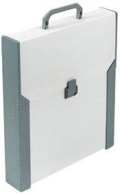 Aristo - Valigetta Studio Case, formato A4, per tavole da disegno Artisto, in plastica, beige/grigio