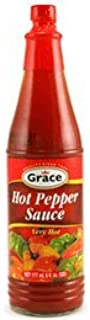 Grace Hot Pepper Sauce 6oz 6 Pack