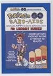 Pokemaim Go Band-Aids (Trading Card) 2017 Topps Wacky Packages 50th Anniversary - Crazy Apps - Blue #5