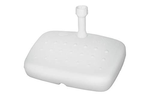 IDEA PIE Parasol para Parasol Balcon 15 L Blanco