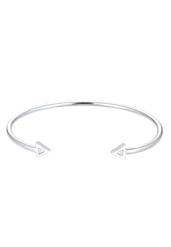 Elli Armband Damen Dreieck Pfeil Geo Bangle in 925 Sterling Silber