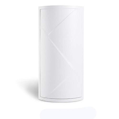 Aiyow Multi-Function Rack, kunststof roterende driehoek, geschikt voor hoofdkeuken, woonkamer, badkamer, koelkast absorptie Wit C