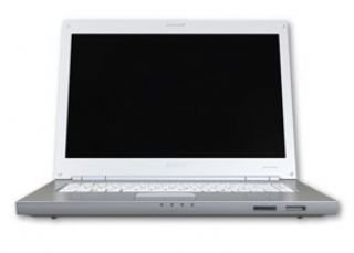 Sony Vaio -N31S/W 39,1 cm (15,4 Zoll) WXGA Laptop (Intel Core Duo T5500 1,66GHz, 1GB RAM, 100GB HDD, DVD+- DL RW, Vista Premium)