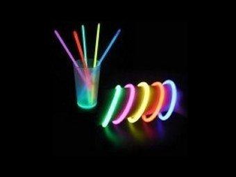 Tube de 50 Bracelets Fluo