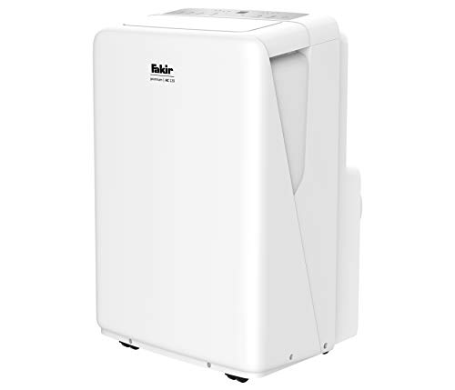 Fakir AC 120 Premium – Mobiles Klimagerät I Luftkühler mit 3 Windmodi + Automatik-Funktion, Timer &. Fernbedienung I Raumlüfter geeignet für Räume bis 100 m³ I Weiß I 2.600 Watt