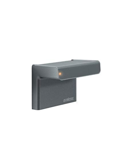 Steinel 007591 Bewegungsmelder iHF 3D anthrazit 160° intelligenter Hochfrequenz-Sensor, mit 1-7 m Reichweite, in 3 Richtungen einstellbar, inkl. Fernbedienung, 2000 W, 230 V