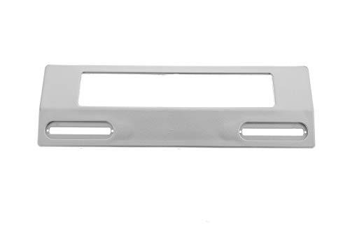 daniplus Türgriff, Griff Silber Universal für Kühlschrank, Gefrierschrank LxTxB 200x60x45mm