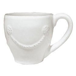 Berry and Thread Demitasse Cup by Juliska - Whitewash