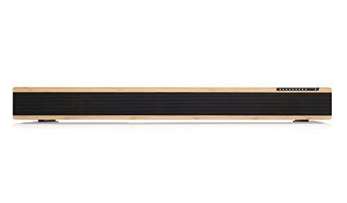 Orbitsound One P70W Haut-Parleur Tout en Un dote d'Un Caisson de Basses intégré (Bambou)