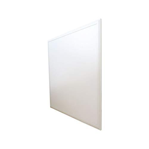 Pannello LED, 60 x 60 cm, 40 W, equivalente a 320 W, luce bianca diurna (6000 Kelvin), 3900 lumen, trasformatore LED incluso